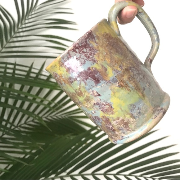 Vintage Other - Painter's Scumble Hand Thrown Coffee Mug